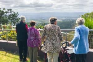 Yukana residents enjoying view at Picnic Point