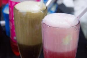 Ice-cream sodas at Yukana Private